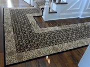 Custom Landing Hall Runner Installation 3273