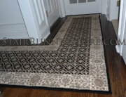 Custom Landing Hall Runner Installation 3275