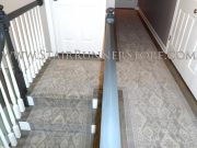 Istanbul Runner Custom Hall and Stair Runner Installation