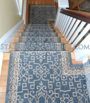 Sonja Stair Runner Custom Landing Installation 3225
