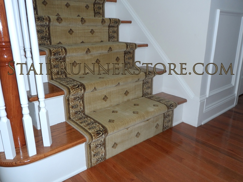 High Quality Straight Stair Runner Installations