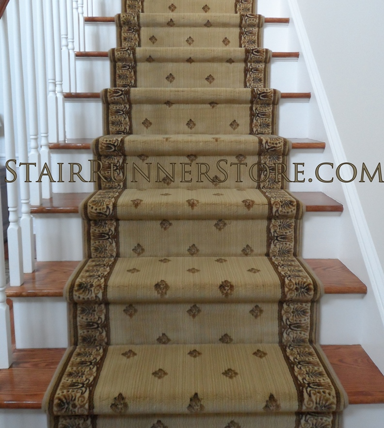 Straight Stair Runner Installations