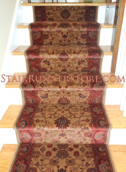 Everest Tabriz Stair Runner Installation 1724
