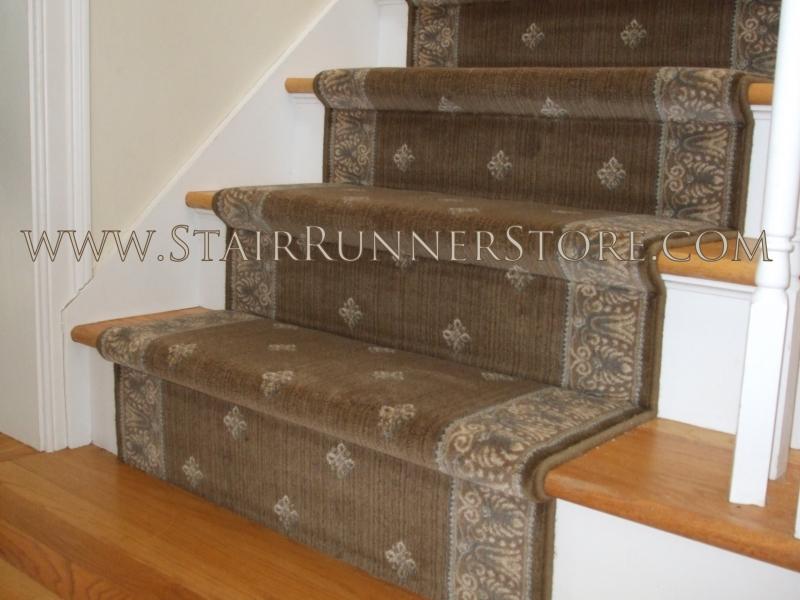 Lovely Harry Straight Stair Runner Installation 2