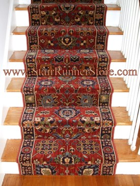 karastan english manor stair runner installation