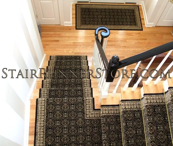 Rug One Manchester Custom Landing Stair Runner