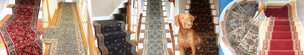 Samples From More Than One Dozen Vendors Arrive Regularly To Maintain A  Selection Of Roughly One Thousand Stair Runner Products.