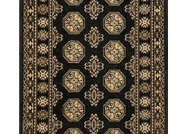 Bocchara Stair Runner Black 49500 27""