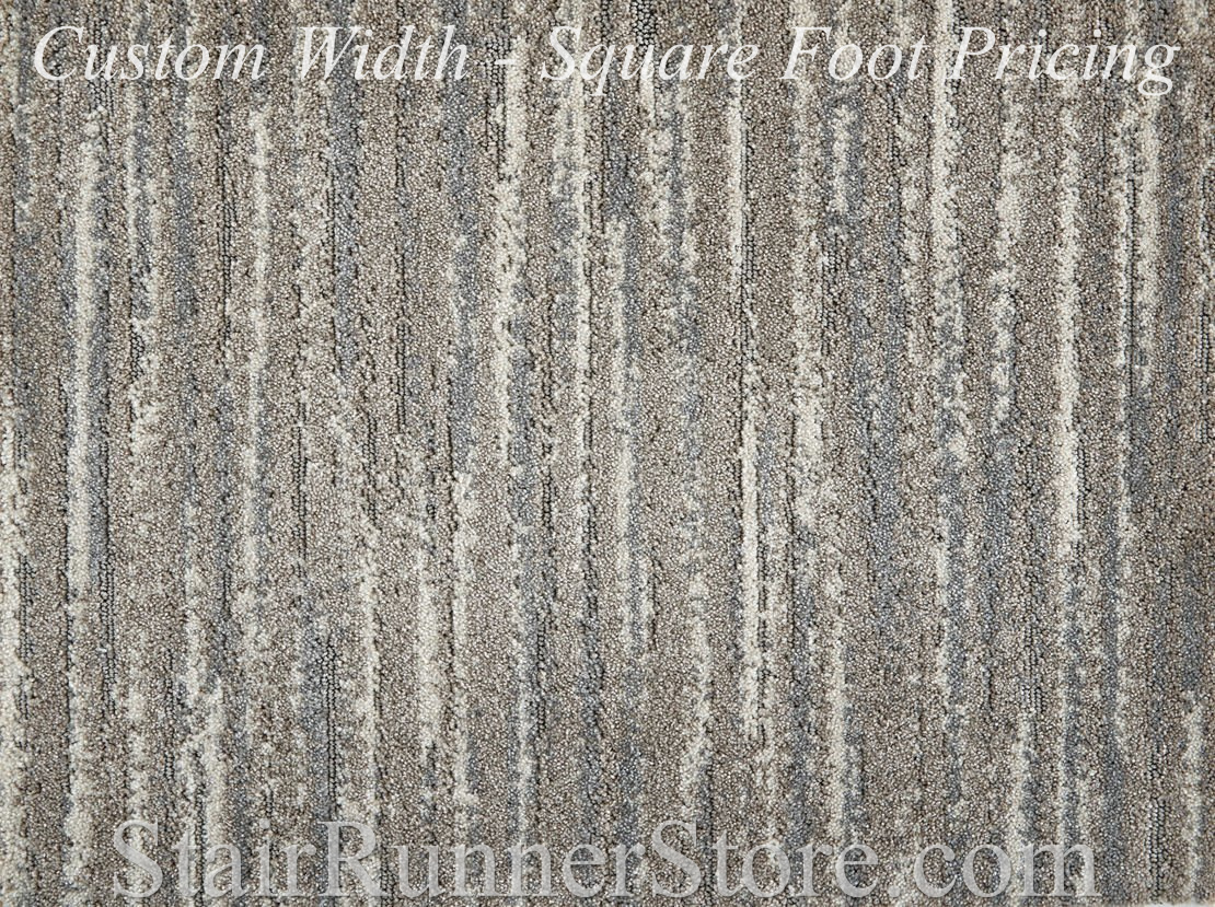 Frequency Oyster Grey Custom Width Runner