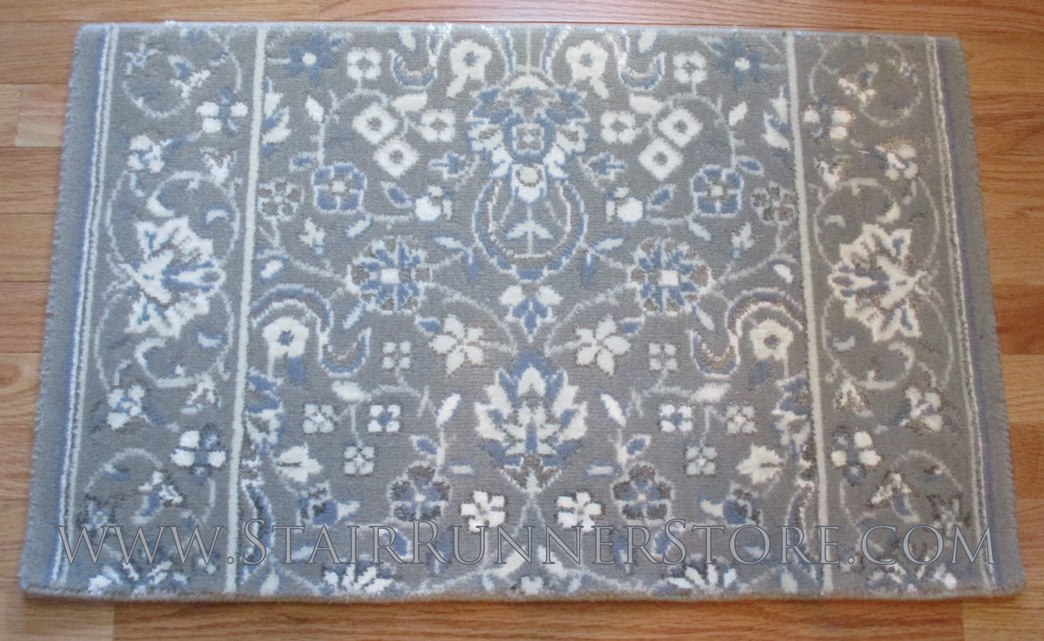 Glamour Kashan Stair Runner Smoke 36""