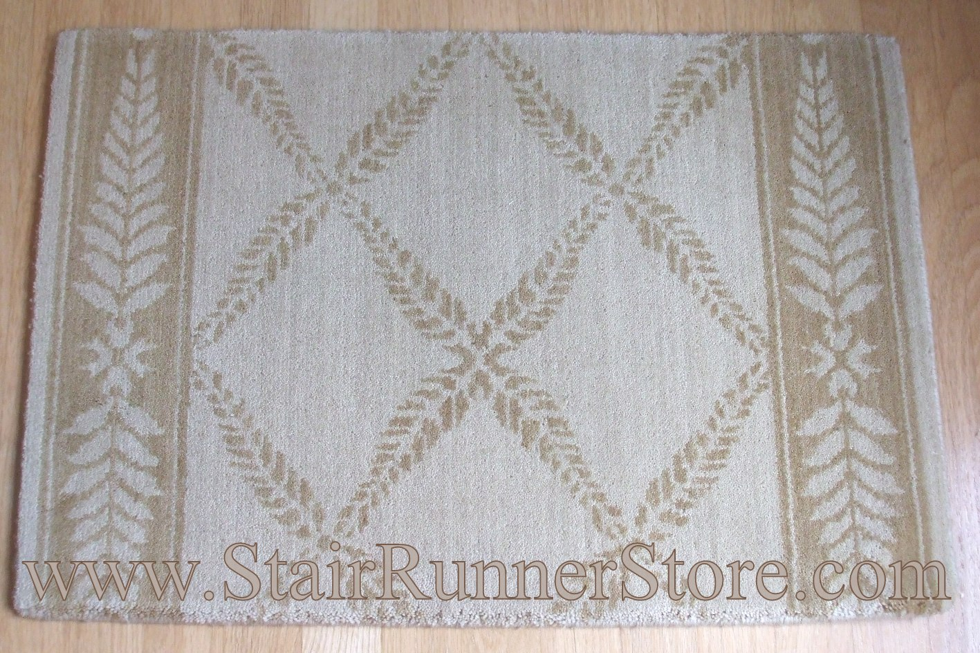 Nourison Chateau Normandy Stair Runner Beige 27""
