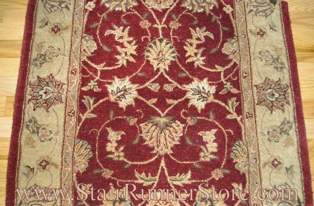 Heritage Hall Stair Runner Red
