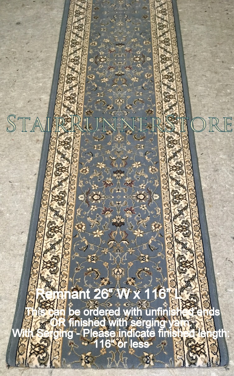 Stair Runner Remnant 26 Quot X 116 Quot Brlt 72284 Blue First
