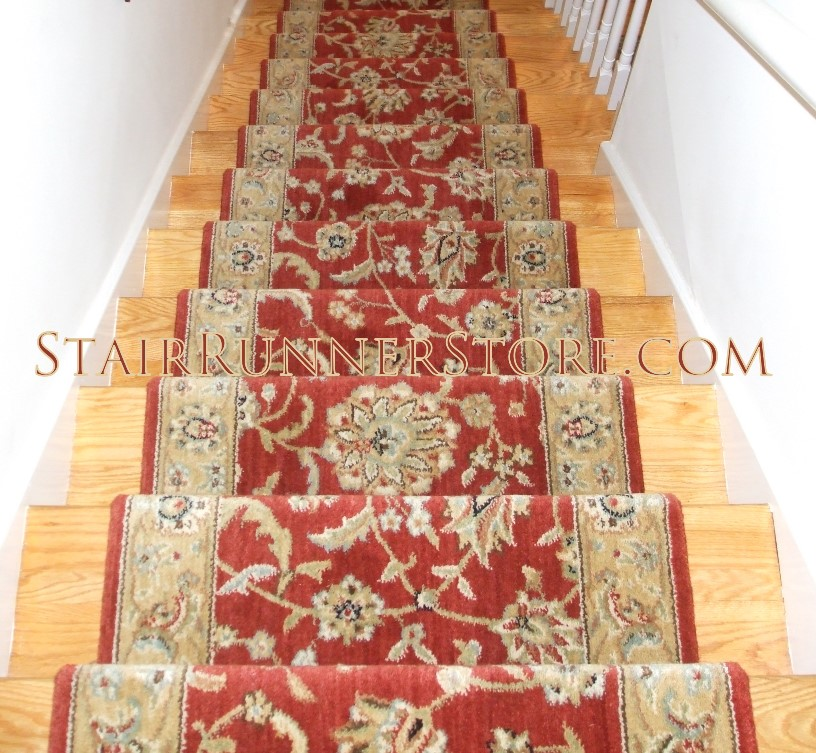 Nourison Persian Jewel Stair Runner Ruby 27 Quot Runner For Stairs