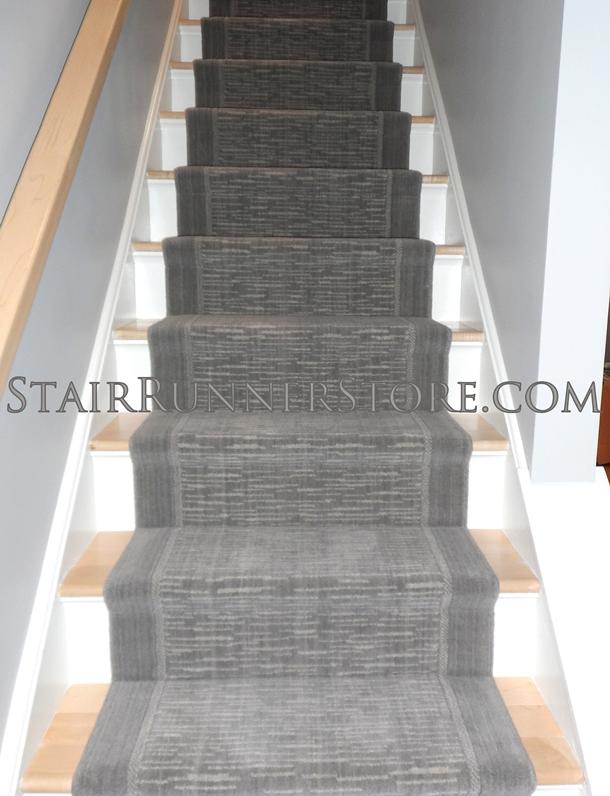 Merveilleux Victoria Wellington Stair Runner Armada