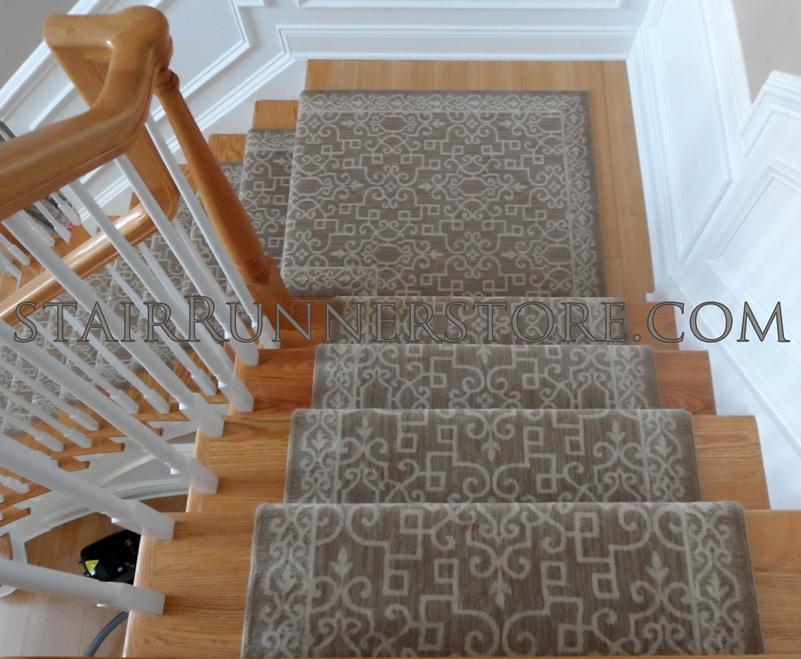 Delightful More Images. Custom Landing Sonja Stair Runner Installation