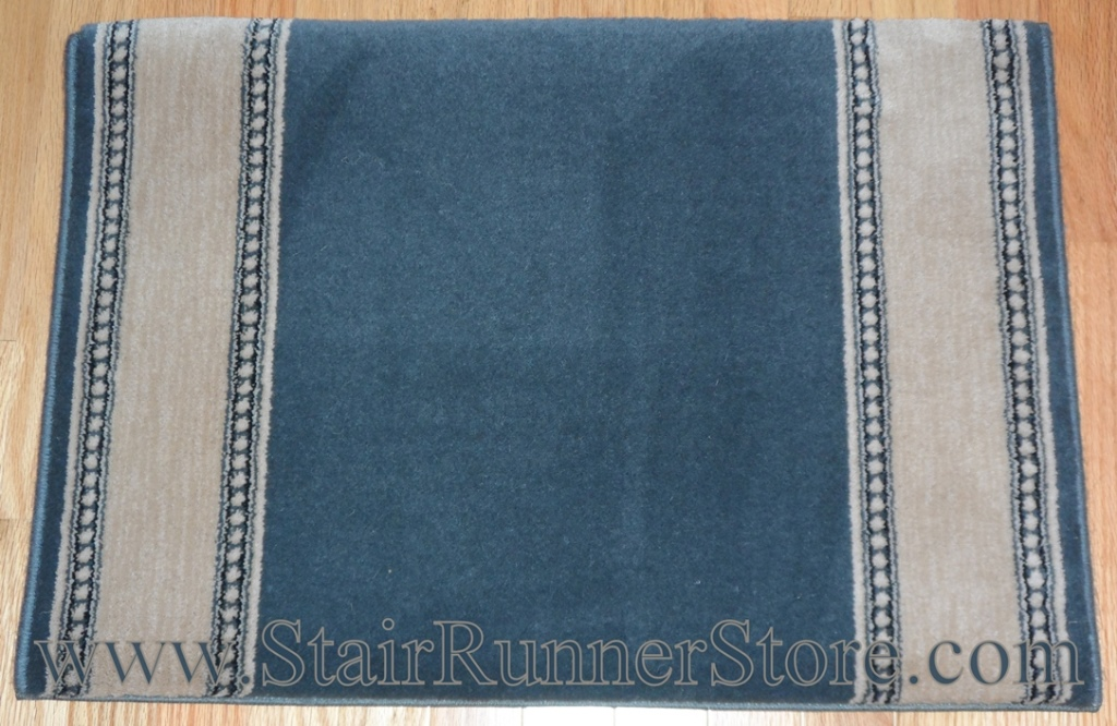 Stanton Karaman Blue Bosphorus Stair Runner 31""