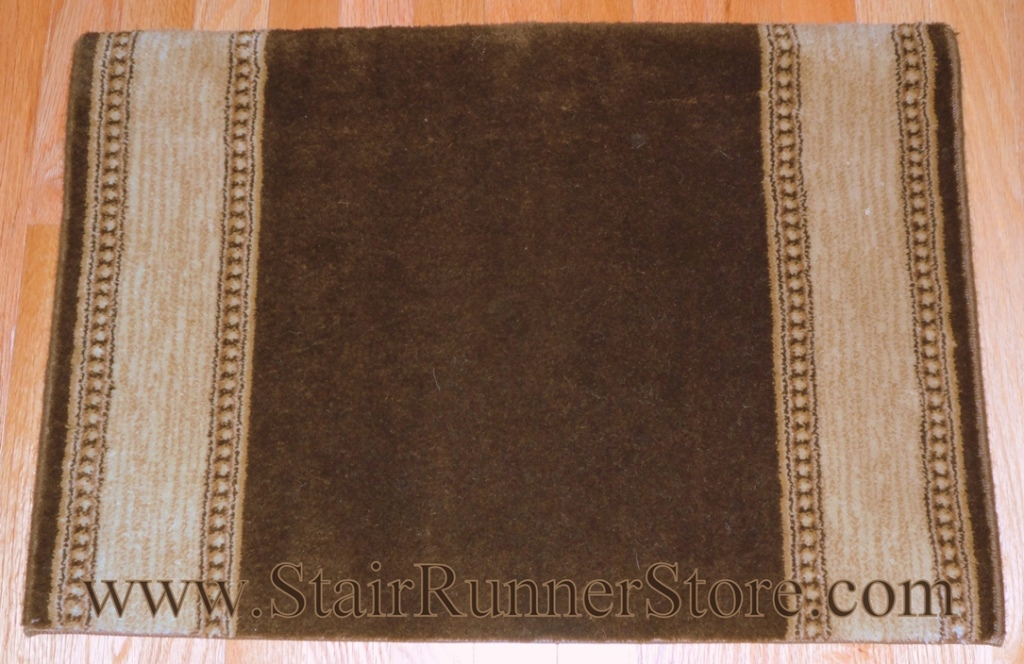 Stanton Karaman Golden Brown Stair Runner 31""
