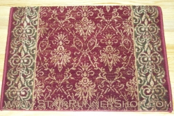 Alexander Stair Runner Wine 26