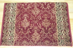 Alexander Stair Runner Wine 31