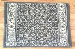 Ancient Garden Stair Runner 57011 Grey-Cream 26""