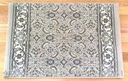 Ancient Garden Stair Runner 57011 SoftGrey-Cream 31""