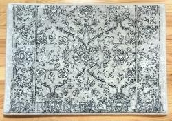 Ancient Garden Stair Runner 57136 SilverGrey 26""
