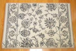 Ancient Garden Stair Runner 57365 Cream 26""