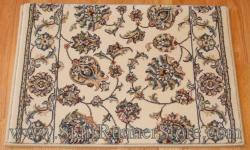 Ancient Garden Stair Runner 57365 Ivory 26""