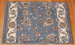 Ancient Garden Stair Runner 57365 Lt. Blue 26""