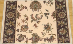 Brilliant Stair Runner 7226 Ivory 26""