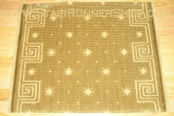 Celestial Stair Runner Chestnut 36""