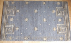Celestial Stair Runner  Grey 36""