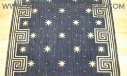 Celestial Stair Runner Midnight 36""