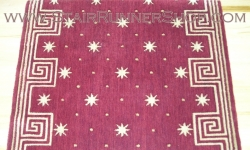 Celestial Stair Runner Red 30""