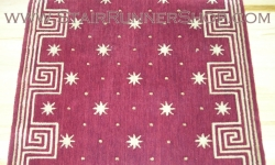 Celestial Stair Runner Red 36""