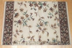 Central Park Stair Runner Ivory 26.5""