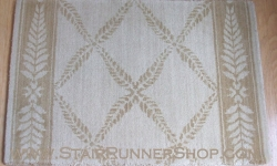 Chateau Normandy Stair Runner Beige 27""