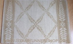 Chateau Normandy Stair Runner Beige 36""