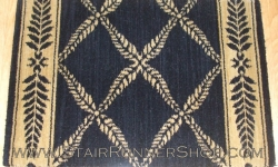 Chateau Normandy Stair Runner Onyx 27""