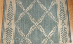 Chateau Normandy Stair Runner Sapphire 27""