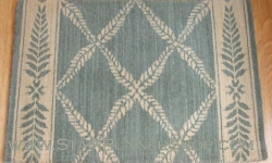 Chateau Normandy Stair Runner Sapphire 36""