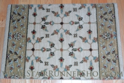 Compass Stair Runner Ivory