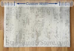 Diffused Custom Width Runner - Ivory