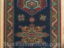 Emir Navy 10520 Stair Runner 22 Inch