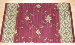 Estate Billington Stair Runner Crimson 30""
