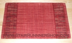 Grand Textures Stair Runner Cayenne 36""