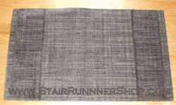 Grand Textures Stair Runner Steel 36""