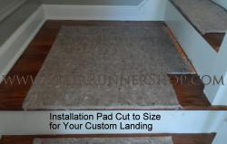 Installation Pad for Larger Size Landing