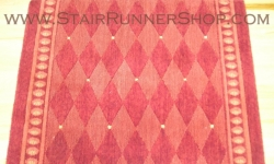Marquis Stair Runner Red 30""